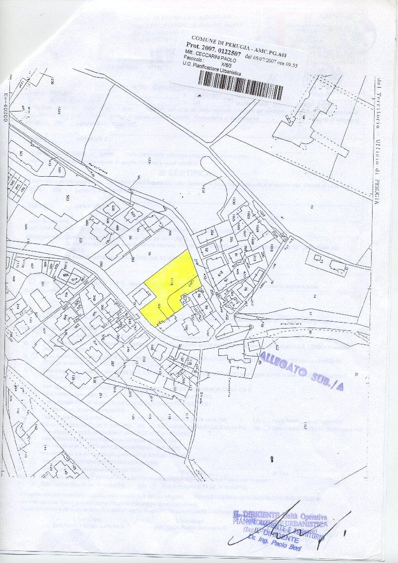 Terreno Edificabile Residenziale in vendita a Perugia, 9999 locali, zona Zona: Montebello, prezzo € 400.000 | Cambio Casa.it